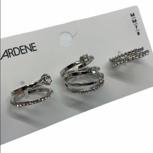 BNWT 8pc stackable ring set